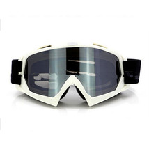 Snow Ski Snowboard Goggles Anti-Fog Eye Protection White Silver - $19.99