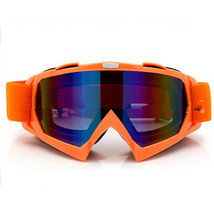 Snow Ski Snowboard Goggles Anti-Fog Eye Protection Orange Colourful - $19.99