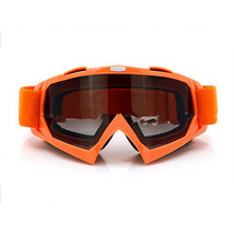 Snow Ski Snowboard Goggles Anti-Fog Eye Protection Orange Tea - $19.99