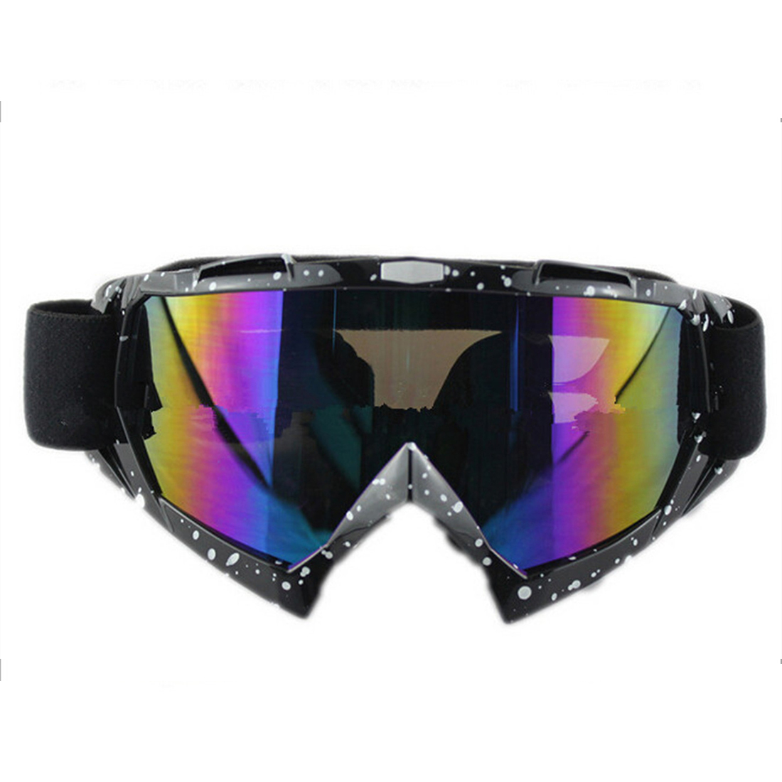 Snow Ski Snowboard Goggles Anti-Fog Eye Protection Black ...