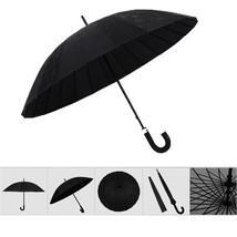 umbrella Water Activated Flower appeared once wet Windproof Princess Black - $24.99