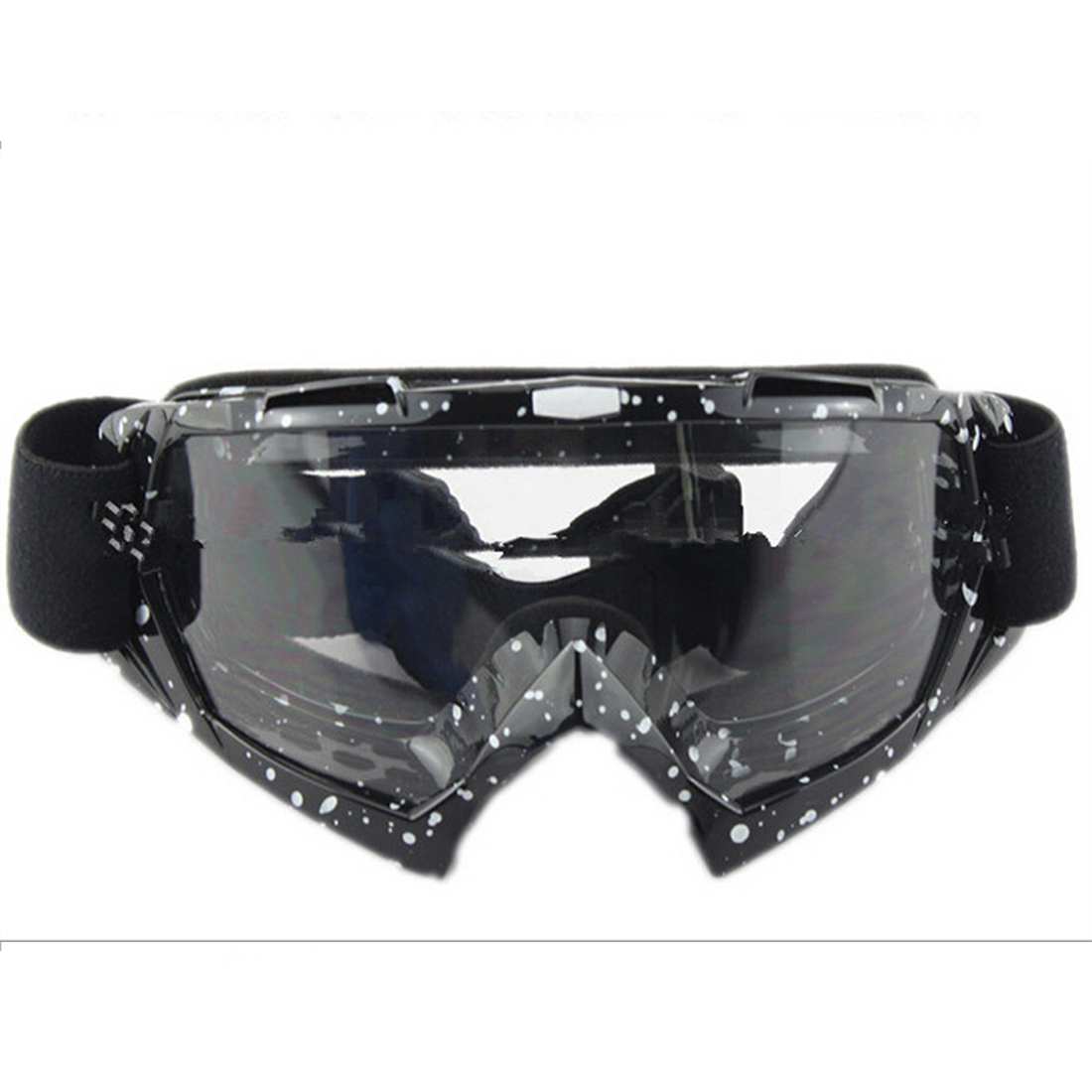 Snow Ski Snowboard Goggles Anti-Fog Eye Protection Black and White Lucency - $19.99