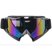 Snow Ski Snowboard Goggles Anti-Fog Eye Protection Black Colourful - $19.99