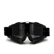Snow Ski Snowboard Goggles Anti-Fog Eye Protection Black Tea - $19.99