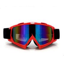 Snow Ski Snowboard Goggles Anti-Fog Eye Protection Red Colour - $19.99