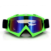 Snow Ski Snowboard Goggles Anti-Fog Eye Protection Green Colourful - $19.99