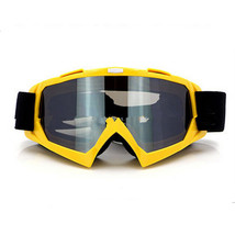 Snow Ski Snowboard Goggles Anti-Fog Eye Protection Yellow Silver - $19.99