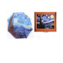 oil painting umbrella for sunny and rainy day elargol sun block sun umbr... - $19.99