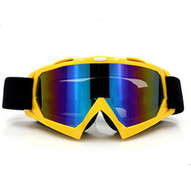 Snow Ski Snowboard Goggles Anti-Fog Eye Protection Yellow Colourful - $19.99