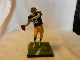 2010 Aaron Rodgers #12 Green Bay Packers McFarlane Figurine Green Unifor... - $29.69