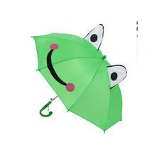 Cute Animal Umbrella For Children Kids ears Bend handle   frog - $17.99