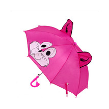 Cute Animal Umbrella For Children Kids ears Bend handle    rabbit - $17.99