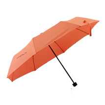 Folding Umbrella Compact Light weight Anti-UV Rain Sun Umbrella Orange - $15.99