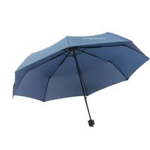 Folding Umbrella Compact Light weight Anti-UV Rain Sun Umbrella Dark Blue - $15.99