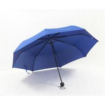 Folding Umbrella Compact Light weight Anti-UV Rain Sun Umbrella Blue - $15.99