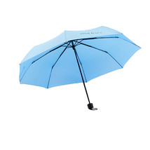 Folding Umbrella Compact Light weight Anti-UV Rain Sun Umbrella Sky Blue - $15.99