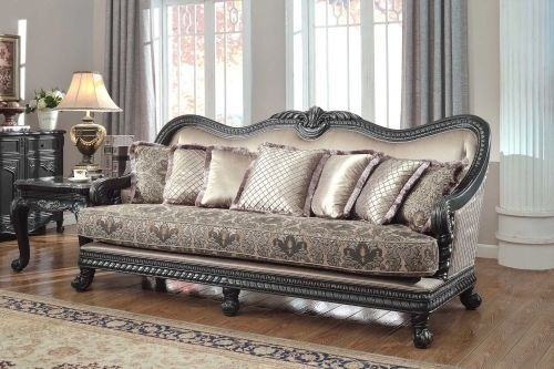 Meridian 618 Florence Living Room Set 3 Pieces Hand Crafted Traditional Style
