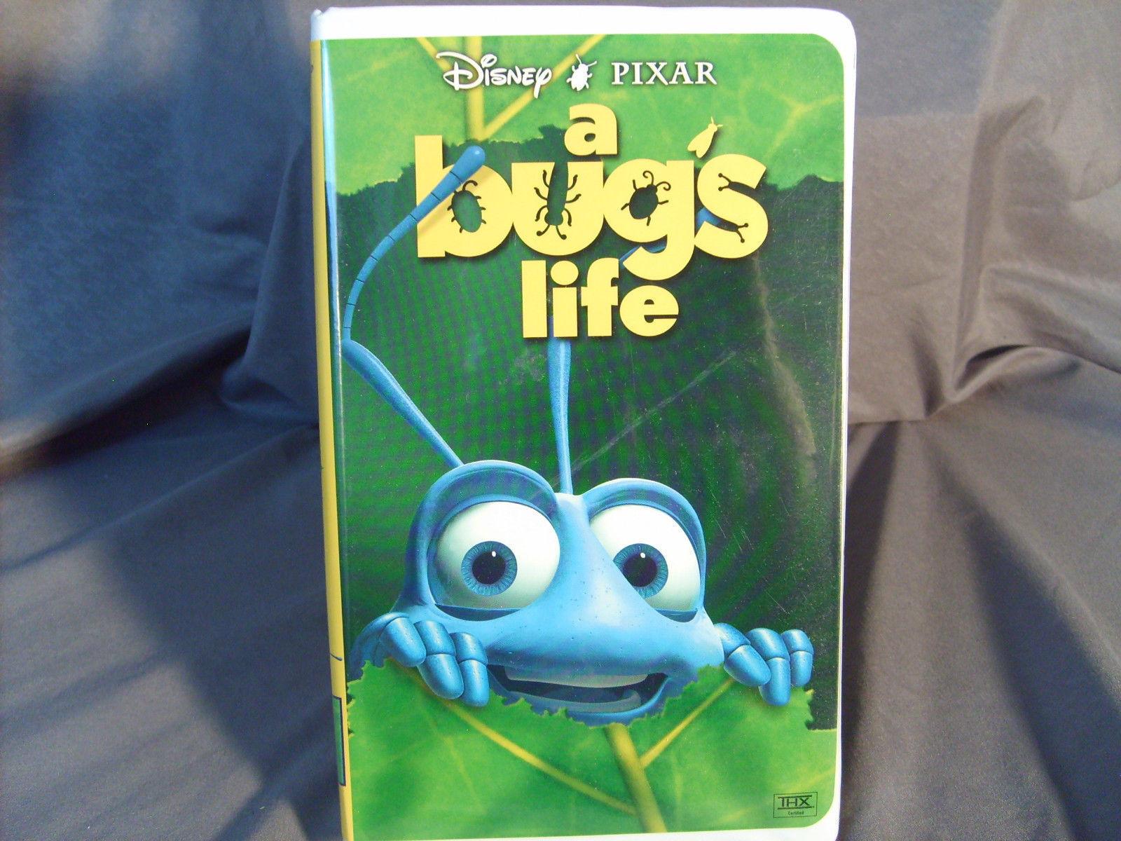 Walt Disney Pixar A Bug S Life Vhs Euc And 48 Similar Items