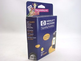 Genuine HP 51640Y OEM Yellow InkJet Print Cartridge DeskJet & CopyJet t40 - $10.88