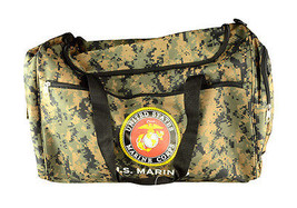 "21"" Military Official Licensed Product ""U.S. Marines"" Duffel Bag Gym Bag - $809,69 MXN"