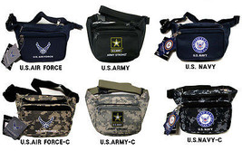U.S.Army,Navy,Air Force Official Licensed Product Military Waist Bags - $10.99