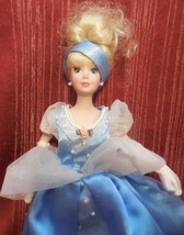 Walt Disney Cinderella Barbie Princess Ball Gow... - $12.86