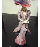 Thomas Kinkade Portraits of Style and Grace Tea at Three Sculpture Figurine - $21.99