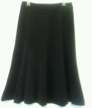EAST 5TH WOMEN'S BLACK FLARED PANELLED SKIRT SIZE M - $9.50