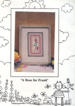 A Rose For Frank Mosey 'N Me Cross Stitch Patte... - $3.12