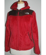 THE NORTH FACE Osito Womens Hoodie/Hooded Plush Fleece Jacket/Coat Pink ... - $118.79