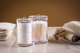 Clear Cotton Ball & Swab Organizer - $18.95