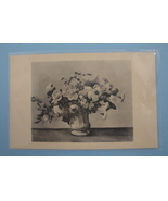 Collotype Art Postcard Unused Andre Derain Still Life Flowers in a Vase ... - $5.00