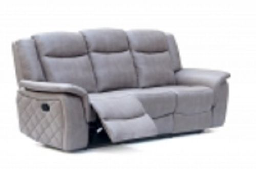 Meridian 628 Grey Living Room Sofa Chic Contemporary Modern