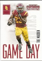 TRE MADDEN 2016 Contenders DRAFT Game Ticket #31 ROOKIE CARD RC USC Troj... - $1.19