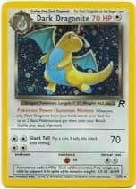 Dark Dragonite 5/82 Holo Rare Team Rocket Unlimited Pokemon Card