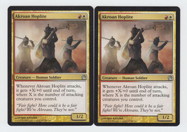 Akroan Hoplite x 2, NM, Theros, Uncommon Multi-Colour, Magic the Gathering - $0.68 CAD