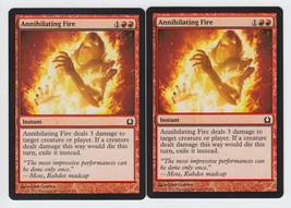Annihilating Fire x 2, NM, Return to Ravnica, Common Red, Magic the Gath... - $0.52 CAD