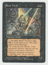 Basal Thrull x 1, HP, Fallen Empires, Common Black, Magic the Gathering - $0.39 CAD