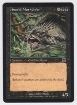 Anurid Murkdiver x 1, LP, Onslaught, Common Black, Magic the Gathering - $0.42 CAD
