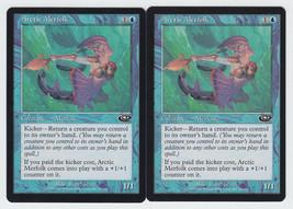 Arctic Merfolk x 2, LP, Planeshift, Common Blue, Magic the Gathering - $0.57 CAD