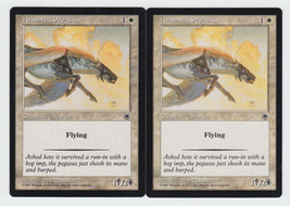 Armored Pegasus x 2, LP, Portal, Common White, Magic the Gathering - $0.53 CAD