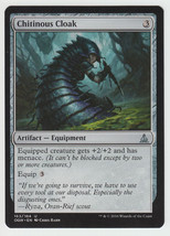 Chitinous Cloak x 1, NM, Oath of the Gatewatch, Uncommon Artifact Equipm... - $0.45 CAD
