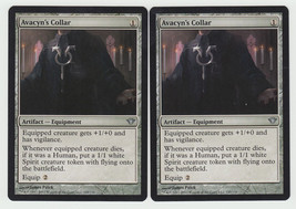 Avacyn's Collar x 2, NM, Dark Ascension, Uncommon Artifact, Magic the Ga... - $0.61 CAD