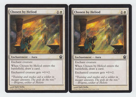 Chosen by Heliod x 2, NM, Theros, Common White, Magic the Gathering - $0.52 CAD