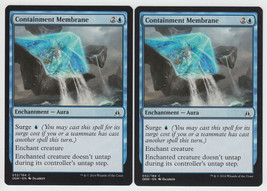 Containment Membrane x 2, NM, Oath of the Gatewatch, Common Blue, Magic ... - $0.56 CAD