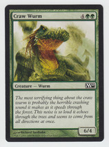 Craw Wurm x 1, NM, Magic 2010, Common Green, Magic the Gathering - $0.40 CAD
