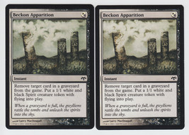 Beckon Apparition x 2, NM, Eventide, Common Hybrid, Magic the Gathering - $0.63 CAD