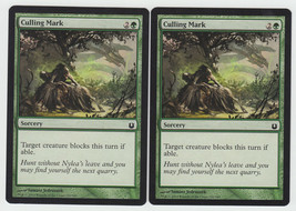 Culling Mark x 2, NM, Born of the Gods, Common Green, Magic the Gathering - $0.56 CAD