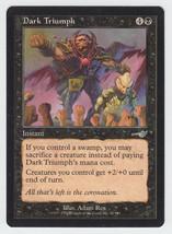 Dark Triumph x 1, LP, Nemesis, Uncommon Black, ... - $0.48 CAD