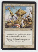 Defensive Maneuvers x 1, LP, Onslaught, Common White, Magic the Gathering - $0.42 CAD